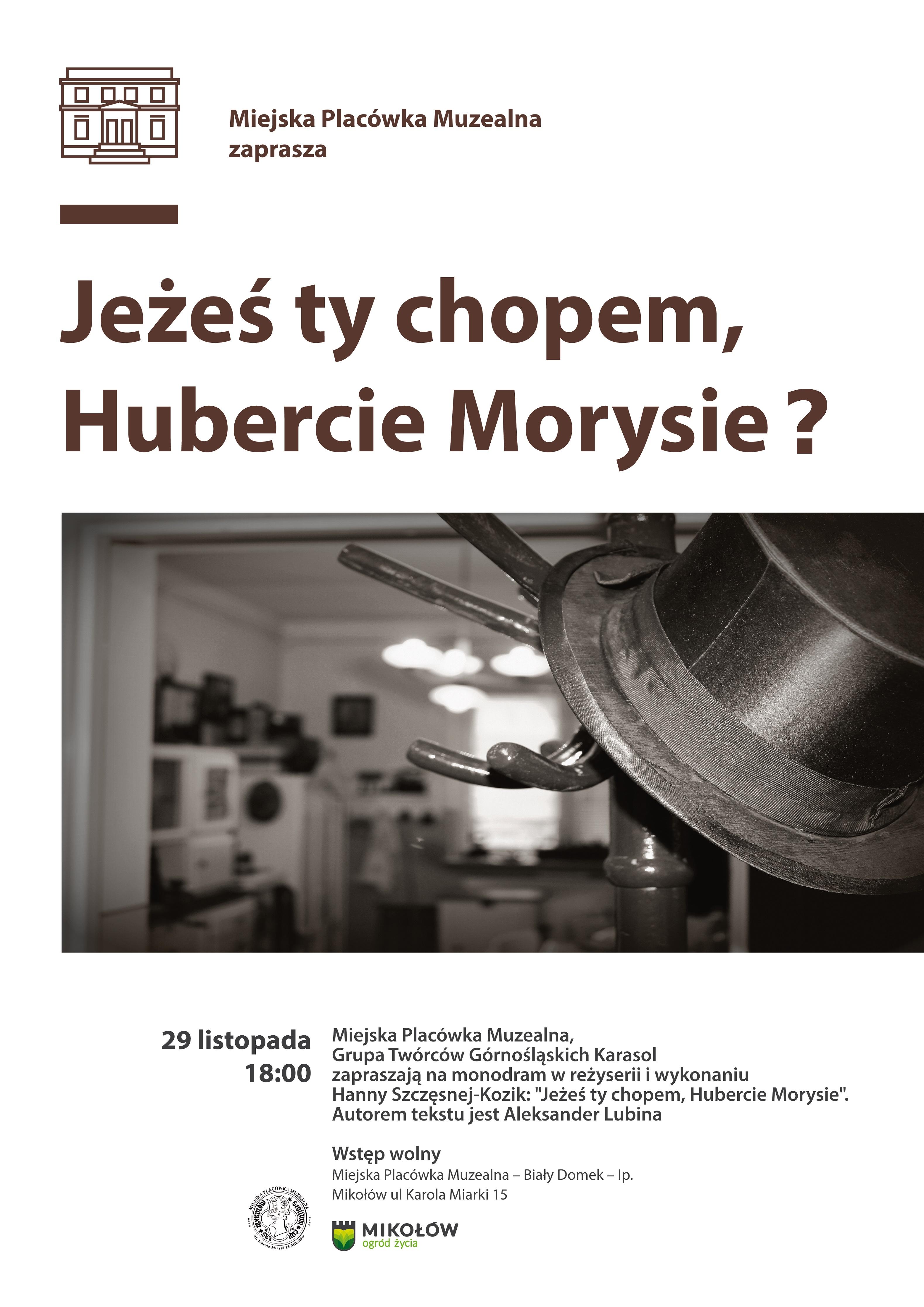 Hubert Morys plakat